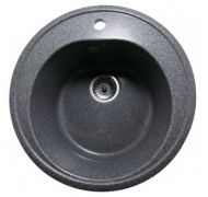 Мойка кухонная Nova Stone NS-01 врезная мрамор серый