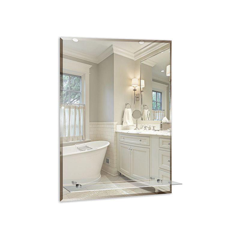 "Зеркало для ванной ""Модерн-люкс"" 495х665 с полкой"