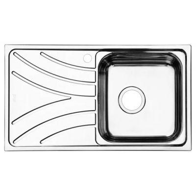 Мойка кухонная IDDIS ARR78SRi77 врезная нержавеющая сталь хром