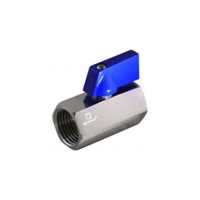 Вентиль СТМ шаровый  для воды,  1/2гг мини.