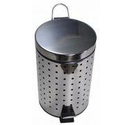 Ведро для мусора хром 5л. 105-Н