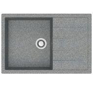 Мойка кухонная Marrbaxx 161 врезная мрамор серый