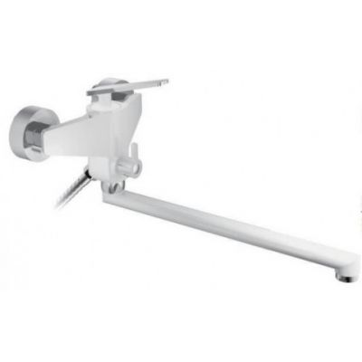 Смеситель для ванны Frap F2258 белый