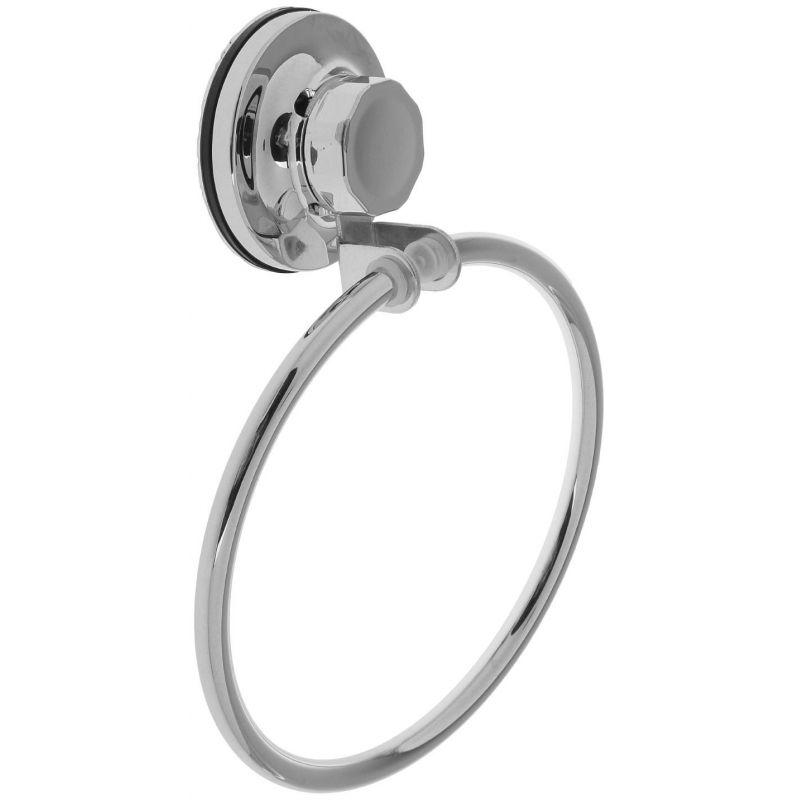 Полотенцедержатель кольцо на присоске Акона 11408