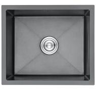 Мойка кухонная GERHANS K35043B врезная нержавеющая сталь графит