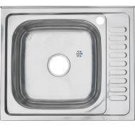 Мойка кухонная MELANA U4054702 накладная нержавеющая сталь хром
