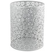 Ведро для мусора 5л. Санакс металл Серебро 8035