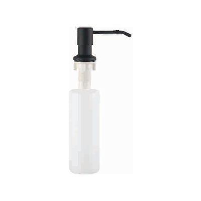 Дозатор для жидкого мыла врезной A185F чёрный мат.