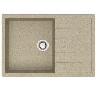 Мойка кухонная Marrbaxx 161 врезная мрамор песочный