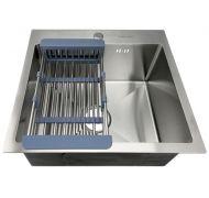 Мойка кухонная FABIA PROFI 50453 врезная нержавеющая сталь хром