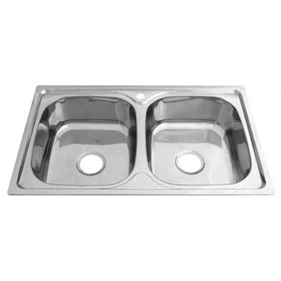 Мойка кухонная Сантрек 53888 врезная нержавеющая сталь сталь
