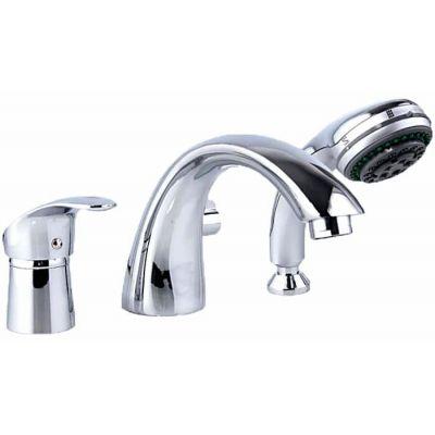 Смеситель ванна Frap шар40мм 1105 врезной (3 отве)