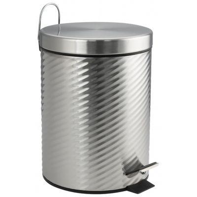 Ведро для мусора хром 5л. 705