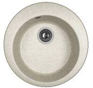 Мойка кухонная Dr. Gans 510 врезная искусственный мрамор серый