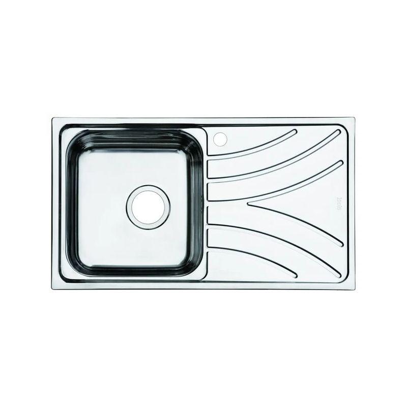 Мойка кухонная IDDIS ARR78Li77 врезная нержавеющая сталь хром
