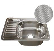 Мойка кухонная Mixline 4858 врезная нержавеющая сталь хром