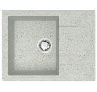 Мойка кухонная Marrbaxx 150 врезная мрамор серый