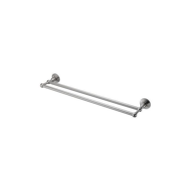 Полотенцедержатель двойн. WasserKRAFT Ammer К-7040 (сатин)