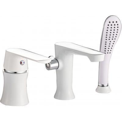 Смеситель для ванны Haiba HB-80804 белый
