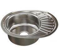 Мойка кухонная Mixline Неизвестна врезная нержавеющая сталь хром