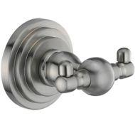 крючок двойной WasserKRAFT Ammer К-7023 (сатин)