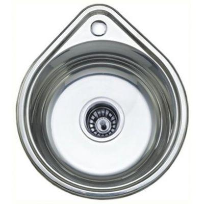 Мойка кухонная Ledeme L94539 врезная нержавеющая сталь хром