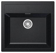 Мойка кухонная Franke SID 610 врезная искусственный гранит черный