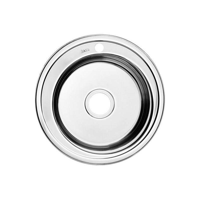 Мойка кухонная IDDIS SUN50P0i77 врезная нержавеющая сталь хром