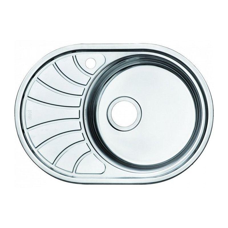 Мойка кухонная IDDIS SUN65SRi77 врезная нержавеющая сталь хром