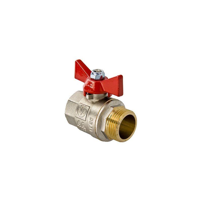 Вентиль Valtec шар 1/2 гш ручка бабочка (VT218) Ит
