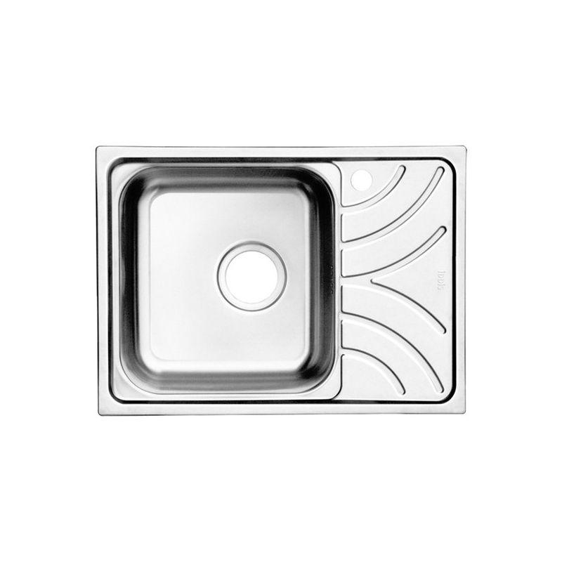 Мойка кухонная IDDIS ARR60PLi77 врезная нержавеющая сталь хром