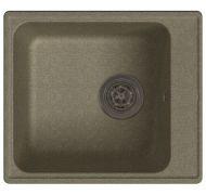 Мойка кухонная GranFest ECO-17 врезная искусственный камень песочный