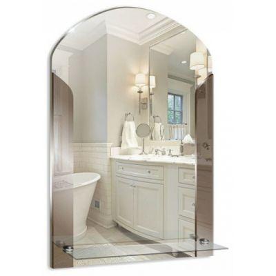 """Зеркало для ванной """"Муза"""" 390х580 с полкой"""