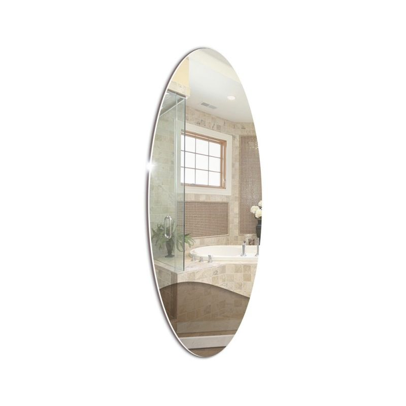 "Зеркало для ванной ""Овал"" 930х350"