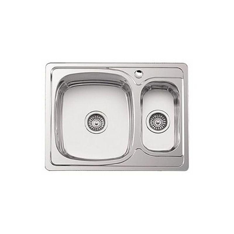 Мойка кухонная Sinklight 6350L врезная нержавеющая сталь хром