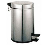 Ведро для мусора хром 7л 107
