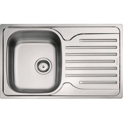 Мойка кухонная Franke POLAR PXN 611-78 врезная нержавеющая сталь матовый серый