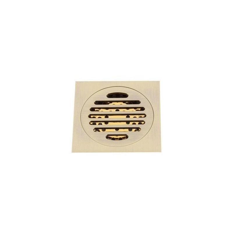 G81001-4 Трап 50 вертикальный GAPPO латунь 100*100 (бронза)